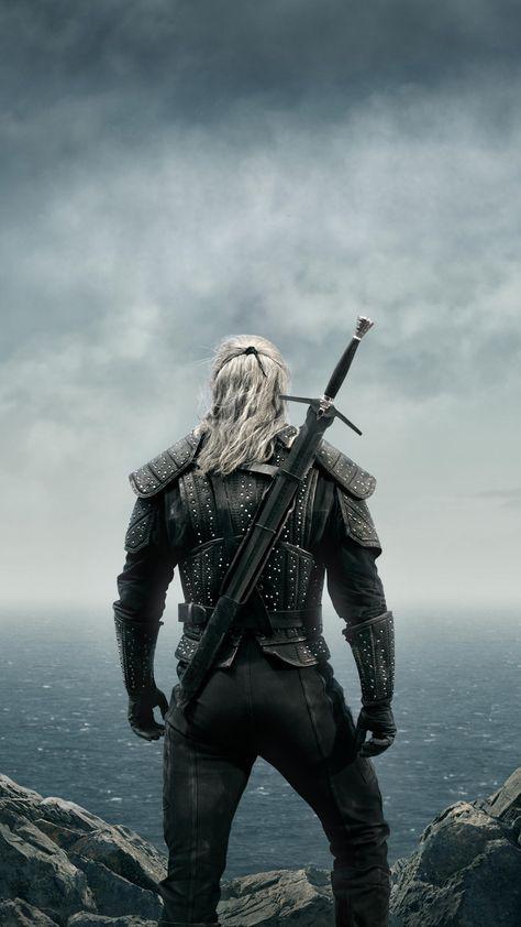 The Witcher, warrior, 2019, Netflix TV show, poster, 1440x2560 wallpaper