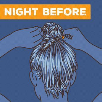 If you have thick, super-straight hair and struggle to turn your volume to put your hair in a topknot right after your shower — then sleep in that sucker. 11 Incredibly Simple Hair Hacks You'll Wish You Knew Sooner Straight Hairstyles, Cool Hairstyles, Hairstyles To Sleep In, Hairstyle Ideas, Straight Hair Tips, Hairstyles 2016, Hairstyles For Frizzy Hair, Medium Permed Hairstyles, Volume Hairstyles