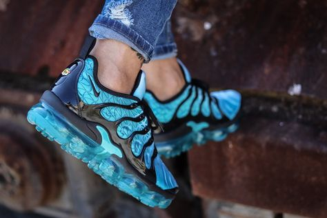 NIKE AIR VAPORMAX Plus Sneaker Schuhe Herren Weiß 924453 100