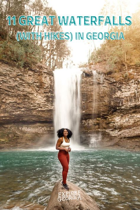 11 GREAT WATERFALLS (WITH HIKES) IN GEORGIA