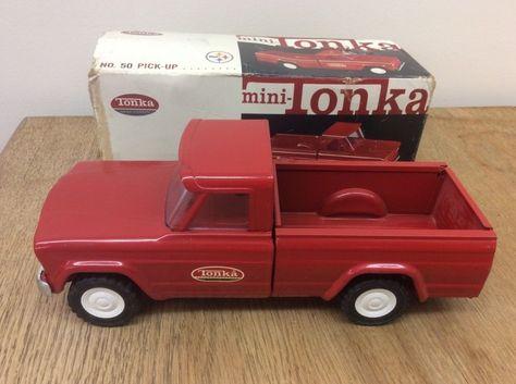 Antiquitäten & Kunst Blechspielzeug Gefertigt Nach 1970 Tonka Pick-up Metall