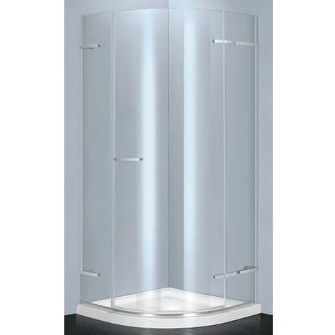 Atlas Quadrant 900mm Sliding Door Shower Enclosure Shower