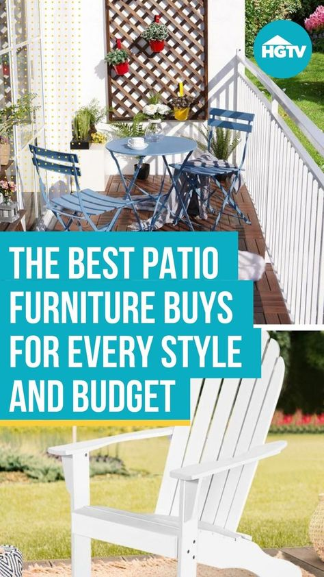 From Adirondack chairs 🏖 to benches to gliders, refresh your space with our top picks for patio furniture seating so you can kick back with a cold drink and enjoy patio season in your outdoor oasis. 🌴