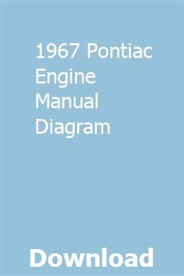 1967 Pontiac Engine Manual Diagram Pontiac Tempest Pontiac Pontiac Gto For Sale