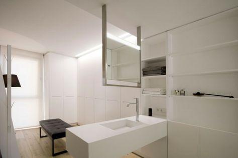 solid surface material hi macs appartement, das solid surface material hi-macs ® im doble dueto appartement, Design ideen