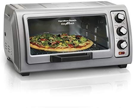 Amazon Com Hamilton Beach 31127d Countertop Toaster Oven Roll