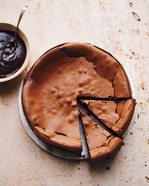 flourless chocolate espresso cake   Martha Stewart
