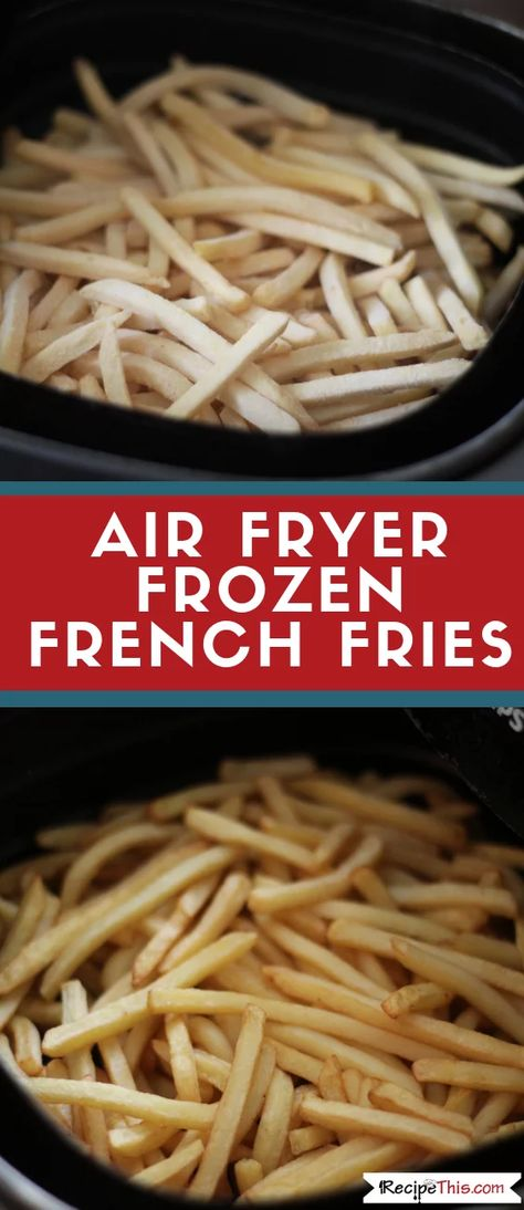 Learn how to cook delicious frozen fries in the air fryer. Whether you like McCains or another brand frozen air fryer fries can chop the calories right down! Air Fryer Oven Recipes, Air Frier Recipes, Air Fryer Dinner Recipes, Power Air Fryer Recipes, Air Fryer Recipes Potatoes, Air Fryer Recipes Breakfast, Air Fryer Cooking Times, Cooks Air Fryer, Frozen French Fries Recipe