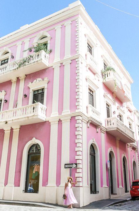 Old San Juan Pink Building
