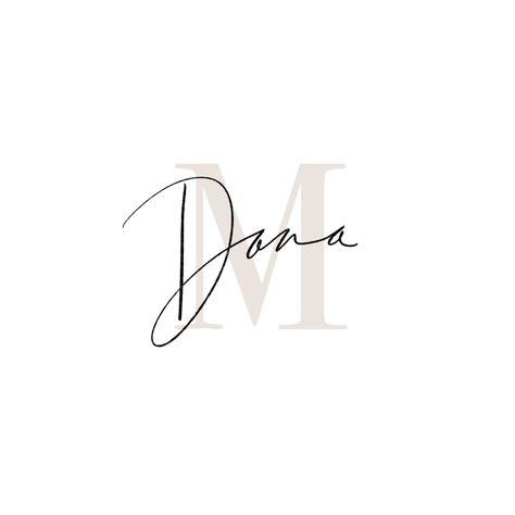 PROJECT: Dana Martin Last week I finished up a super fun logo project with ., LOGO PROJECT: Dana Martin Last week I finished up a super fun logo project with ., LOGO PROJECT: Dana Martin Last week I finished up a super fun logo project with . Marca Personal, Personal Logo, Logo Branding, Branding Design, Interior Design Logos, Brand Logo Design, Corporate Branding, U Logo, Graphic Design Logos
