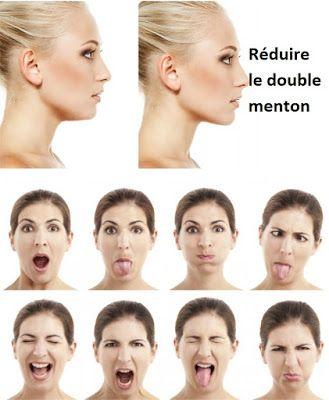 exercice double menton