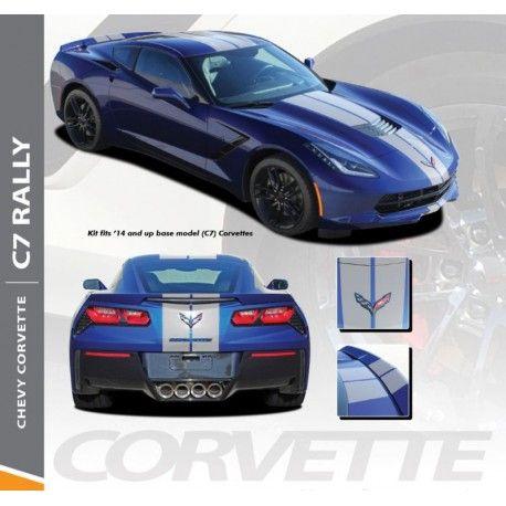 Pin By Tom Pearce On Auto Stripe Decals Auto Trim Kits Racing Stripes Corvette Vinyl Graphics