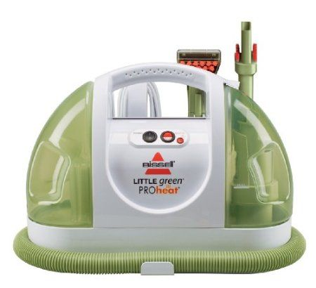 Steam cleaner.... I love the pretty green color! And it works really great! best bathroom grout cleaner, bathroom tile cleaner, best bathroom tile cleaner, best cleaner for bathroom tile and grout