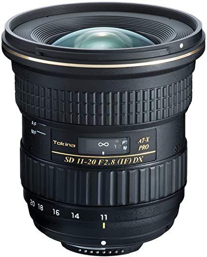 Amazon Com Tokina At X Pro Dx For Digital Slr 11 20mm F 2 8 Pro Dx Lens For Nikon F Camera Photo In 2020 Nikon Best Canon Lenses Digital Slr