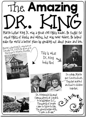 How We Celebrate Martin Luther King!