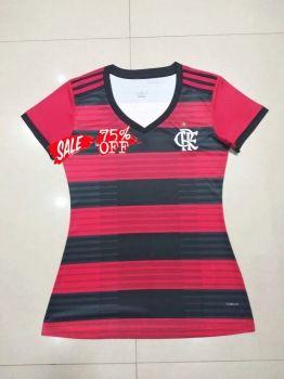 Women Flamengo 2018-19 Top Home Red Jersey  M400   f6db532fb