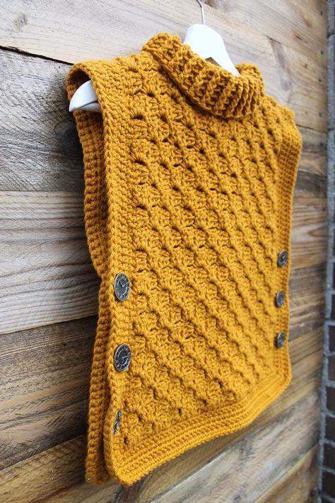 Crochet Pattern: The Time Traveler's Tunic Baby Toddler | Etsy