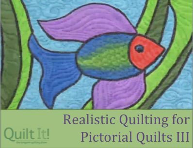 Realistic Quilting for Pictorial Quilts with Cathy Wiggins Part 3 ... : pictorial quilting videos - Adamdwight.com