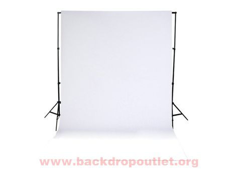Fabric Photography Backdrop White Cloth Passport Background