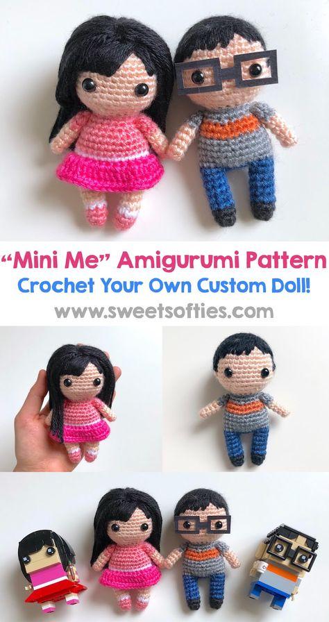 Bonny the Fox - Cute anime-style crochet fox doll 17'' with scarf ... | 896x474
