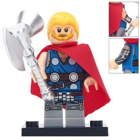 The Question Marvel DC Comics Lego Moc Minifigure Gift For Kids