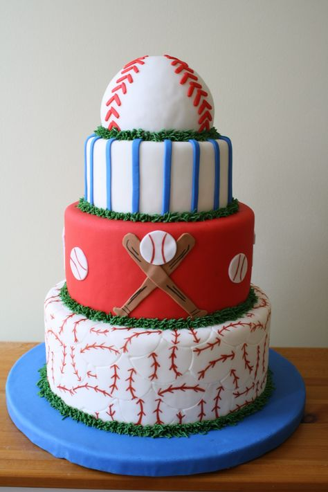 MLB Cake - NAORDA Cake competition 2nd place in the beginner category.