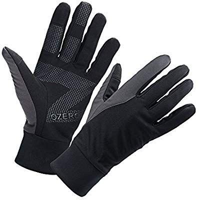 Amazon Com Ozero Bike Gloves For Men Winter Warm Touch Glove