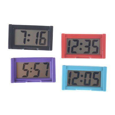Details About Auto Digital Car Dash Lcd Clock Time Date Display Self Stick Ff Kkb Sh Clock Wall Clock Digital Wall Clock Sticker