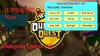 Roblox Hack Scripts Update Gui Dungeon Quest Instants Kill