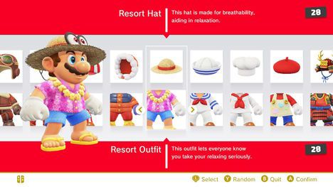 And This Seems To Be Mario S Resort Hat And His Resort Outfit From Super Mario Odyssey Super Mario Art Super Mario Odyssey Resort Outfit