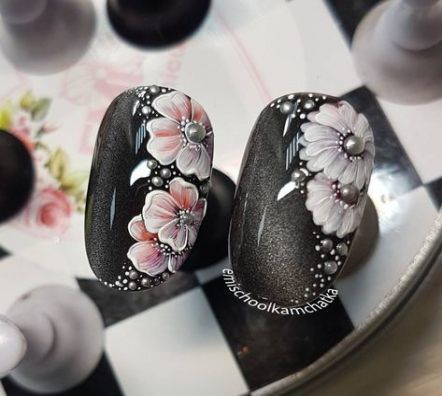 31 New Ideas Nails Art Flowers Classy Trendy Nail Art Flower Nail Art Nail Art Hacks