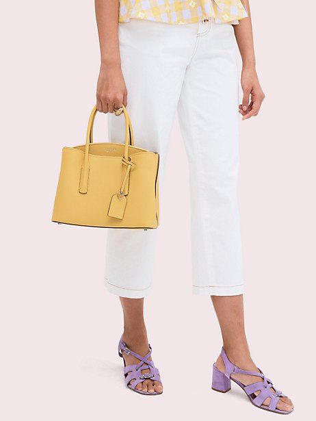 7ee57f8d75 Kate Spade Margaux Medium Satchel, Vibrant Canary in 2019 | Products ...