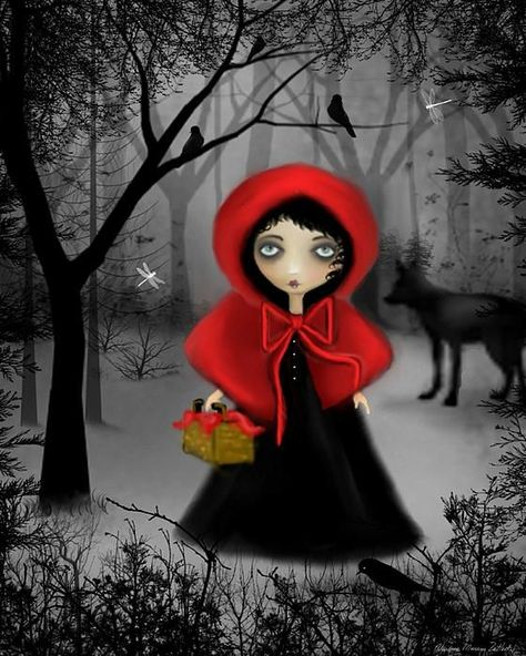 Red Riding Hood - by Charlene Murray Zatloukal