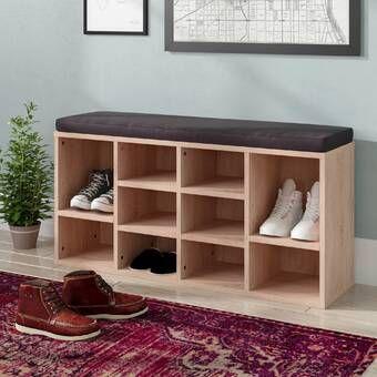 Manzanola Shoe Storage Bench Bench With Shoe Storage