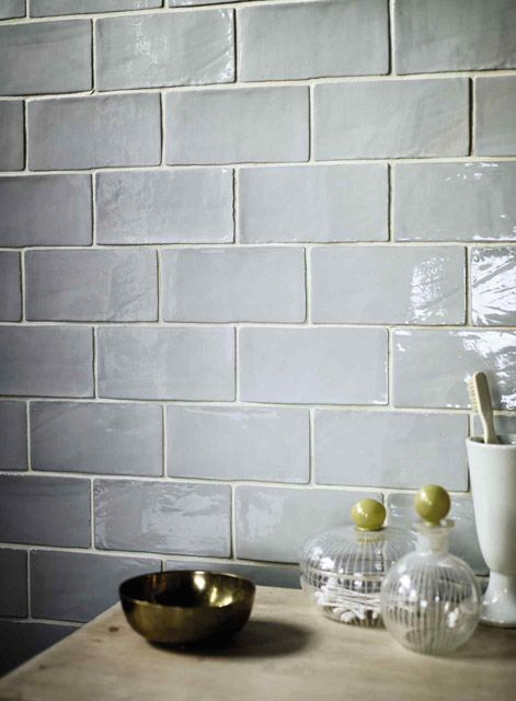 i love these rustic subway tiles they