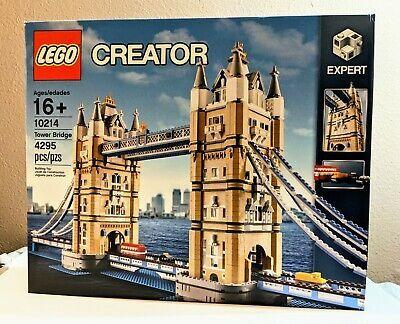 Lego Creator Tower Bridge Set 10214 New Sealed Retired London X Mas Shipping Lego London Tower Bridge London Tower Bridge