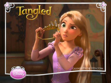 Tangled Wallpaper: Rapunzel