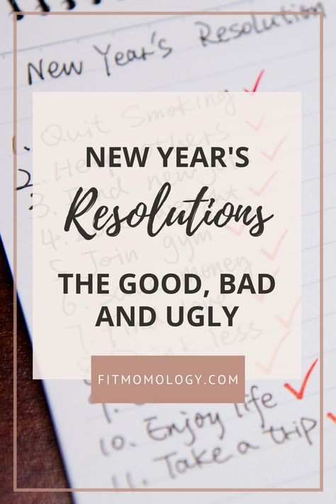 New Year's resolutions can be tricky but they don't have to be a trap. Read on for ways to beat the hype and achieve those goals! #newyearsresolutions #beatthehype #healthylifestyle #healthyliving #selfcare #fitmomology #newyearnewyou #eatbetter #getinshape