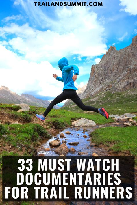 33 Must Watch Documentaries For Trail Runners – Famous Last Words Trail Running Motivation, Trail Running Quotes, Running Humor, Running Training Plan, Running Workouts, Marathon Training, Treadmill Running, Race Training, Yoga Workouts
