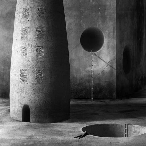 mysilentartworld:  In Construction, Cityscape, skyline. 16, photography by Marcin Sacha