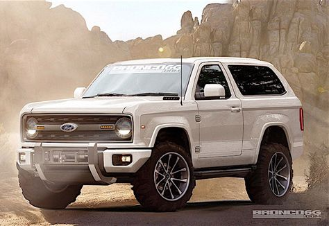 2020 Ford Bronco Could Get Solid Axles Ford Bronco Ford Bronco Concept Bronco Concept