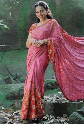 Nithya Menon Hot Sexy Photos In Saree Spicy Ammayi