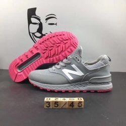 luminosa Foglio è abbastanza  New Balance Men 574 Classic ML574V2GY Grey Pink Mens Womens Running Shoes |  Womens running shoes, Running women, High heel boots ankle