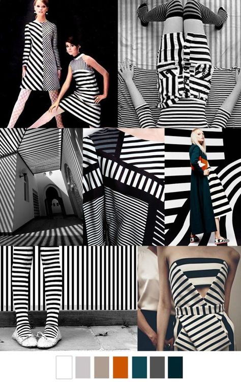 FASHION VIGNETTE: TRENDS // PATTERN CURATOR - GRAPHIC PATTERNS . SS 2017 #FashionTrendsSs17