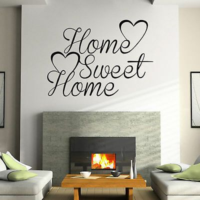 Removable Home Room Decor Quote Word Decal Vinyl Art Wall DIY Stickers Bedroom