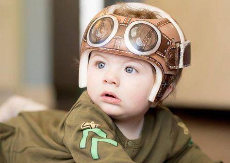 Aviator Style Band Cranial BandStarband Httpswwwfacebookcom - Baby helmet decalsbaby helmets lee pinterest creative baby helmet and babies