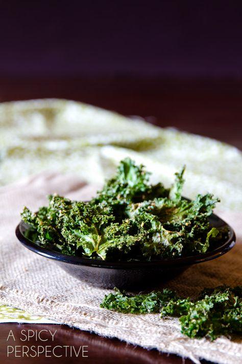 Zesty Baked Kale Chips