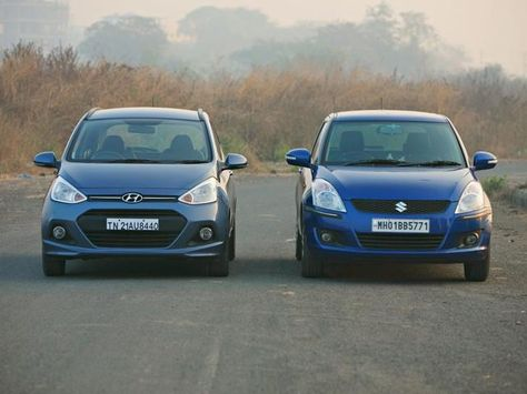 Hyundai Grand I10 Versus Maruti Suzuki Swift Grand I10 Versus