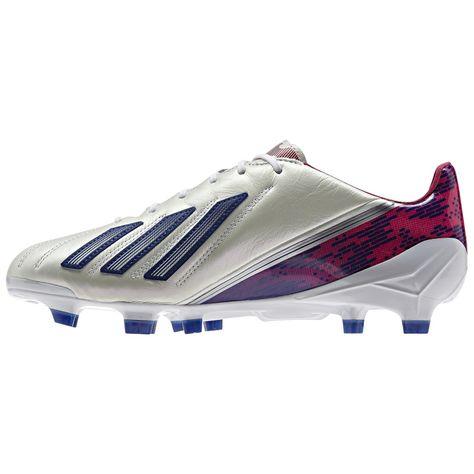 Adidas F50 adizero TRX FG W Leder Fussballschuhe Damen weiß