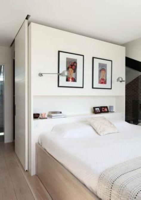 Walk In Closet Behind Bed Ideas Storage 52 Ideas Chambre A